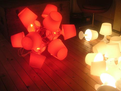 Kugellampe aus Lampan